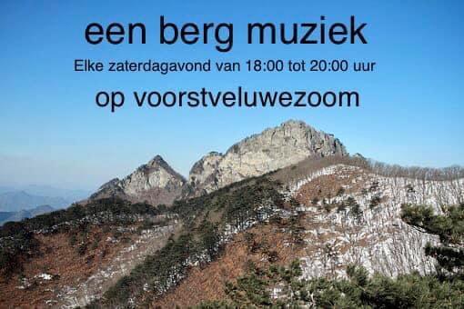Edward van den Berg! Live op zaterdag!